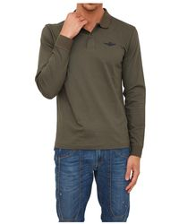 Aeronautica Militare - Polo shirt - Lyst