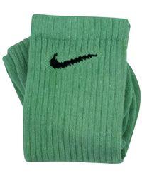 Nike Calzini Tie Dye Custom Monochrome Kelly Green - Groen