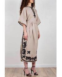 Bazar Deluxe Dress Beige - Neutro
