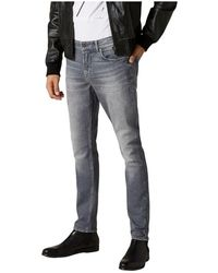 7 For All Mankind Jeans Jsd4r78ae-000 - Grijs