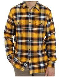 Levi's Jackson Worker Andrusia Golden Shirt - Geel