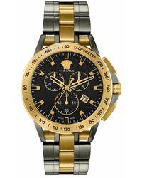 Versace Sport Tech Chronograph Watch - Gelb