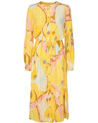 Numph Nucasey Dress - Geel