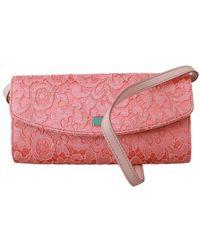 Dolce & Gabbana Lange Clutch Tas - Roze