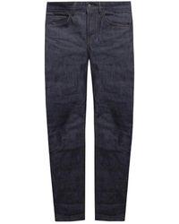 AMI Jeans With Logo - Blauw