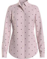 Tommy Hilfiger Overhemd Ww0ww27486 - Roze
