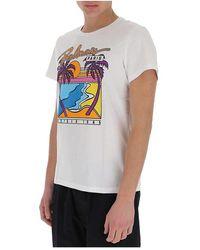 Essentiel Antwerp Camiseta con logo estampado Blanco