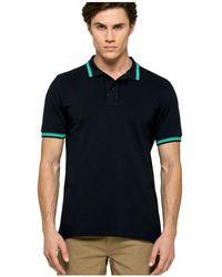 Sundek Shirt M779plj6500-609 - Zwart