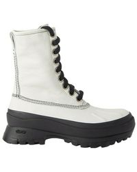 Jil Sander Lace-up Boots - Wit