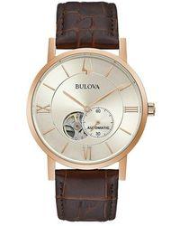 Bulova Clipper Watch - Naturel