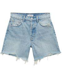Anine Bing Shorts Kit Denim - Blauw