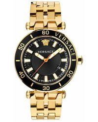 Versace Greca Sport Bracelet Watch - Gelb