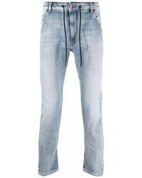 DIESEL - Slim Mid-Rise Jeans - Lyst