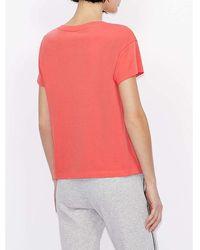 Armani Exchange - T-shirt Naranja - Lyst