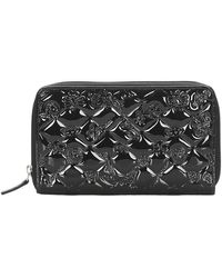 Chanel Vintage - Gematelasseerd Icon Patent Leather Coin Pouch - Lyst
