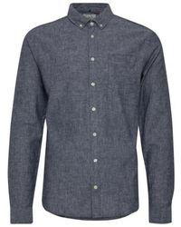 Blend Slimfit Overhemd /grijs