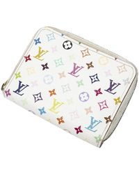 Louis Vuitton Ltd. Ed. Porte-monnaie Takashi Murakami Zippy - Blanc