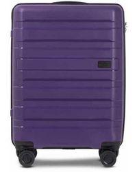 Conwood Santa Cruz 55 Cm Acai Purple Cabin Suitcase - Paars