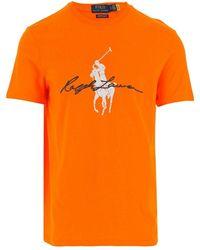 Ralph Lauren T-shirt - Oranje