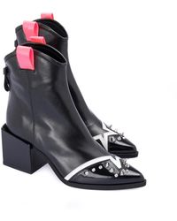Loriblu Pointed Ankle Boot - Zwart