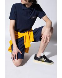 Iceberg - Shorts with logo Azul - Lyst