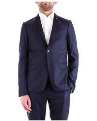 Patrizia Pepe 5S0650/A4Xh Jacket Men Navy - Blu