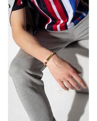 Dolce & Gabbana Pulsera con logo Beige - Neutro