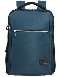 Samsonite Zaino Litepoint 17.3 Backpack - Blau