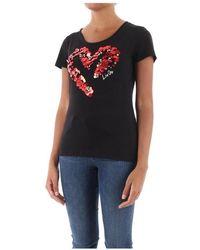Liu Jo T-Shirt Wf0176 J5003 - Noir