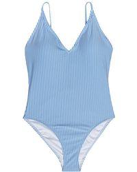 Gestuz Myo swimsuit - Bleu