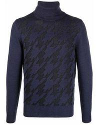 Canali Sweater - Blauw