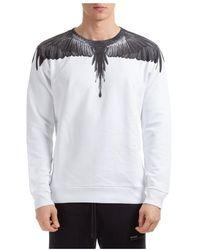Marcelo Burlon Men's Sweatshirt Sweat Wings - Wit