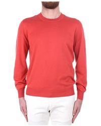 Brunello Cucinelli M2900100 Sweater - Rood