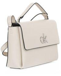 Calvin Klein PAS Flap BAG Beige - Neutro
