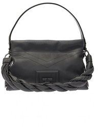 Givenchy Shoulder Bag 'id93' With Logo - Grijs
