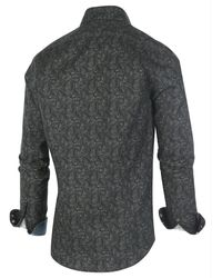 BLUE INDUSTRY Perfect fit shirt Verde