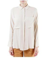Erika Cavallini Semi Couture Semi-couture Shirt - Wit