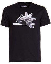 Les Hommes T-shirt - Zwart