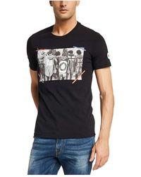 GAUDI T-shirt - Zwart