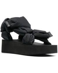 RED Valentino Valentino garavani trek flatform sandals - Nero