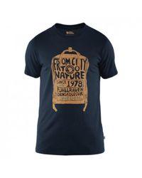 Fjallraven Känken T-shirt - Blauw