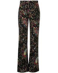 Etro Fuji Trousers - Zwart
