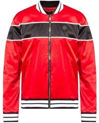 Philipp Plein Sweatpants with logo - Rouge