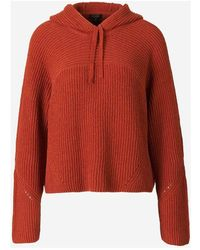 Rag & Bone Knit Sweatshirt - Oranje