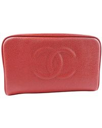 Chanel Vintage Clutch - Rood