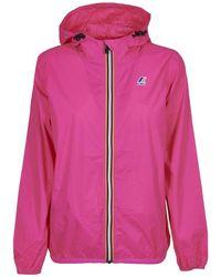 K-Way Coats - Roze