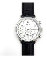 Bulova Crono High Precision Watch - Weiß