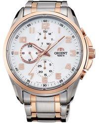 Orient Watch UR - Fuy05001W0 - Grau