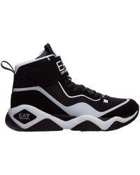 EA7 High top sneakers - Nero