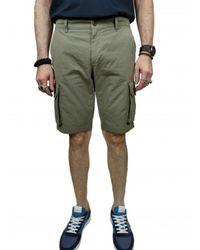 Mason's Bermudas cargo poches - Vert